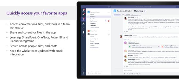 Apps in Teams