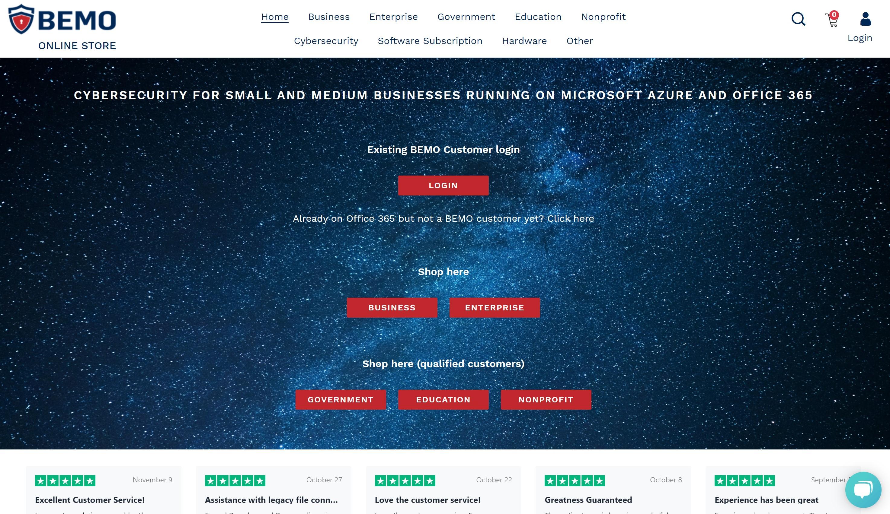 BEMO Online Store