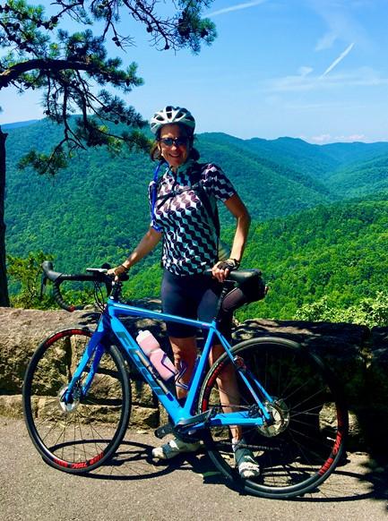 Cycling Blue Ridge Parkway