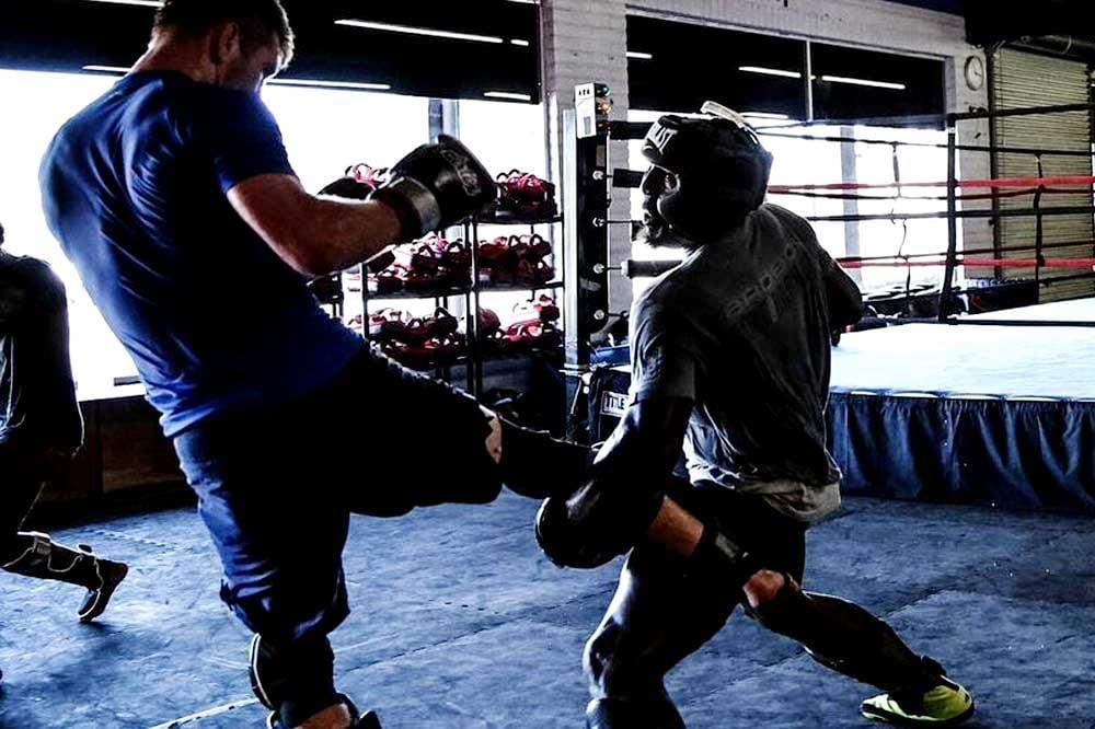 Domonic MMA Training