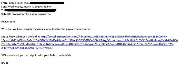 InkedAttack Simulator Phishing Email Example Minus Emails