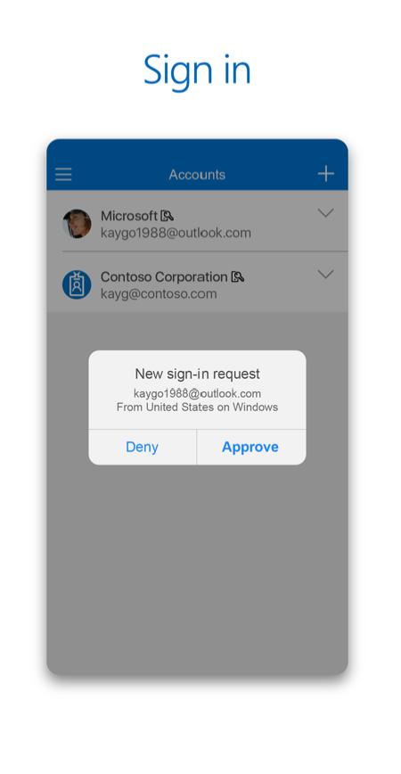 Microsoft Authenticator App Login