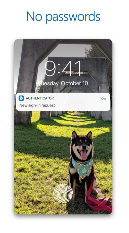Microsoft Authenticator App No Passwords