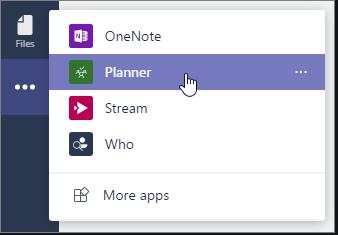 Planner App in Teams