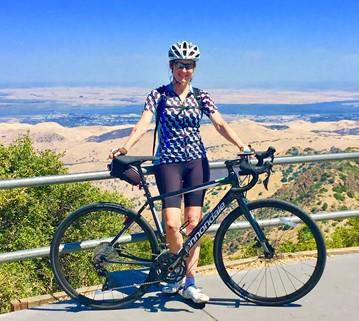 Cycling Mt. Diablo, California