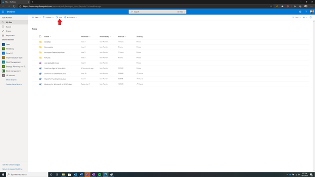 Sync OneDrive