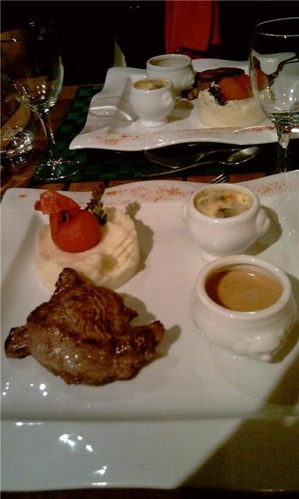3 Michelin star dinner