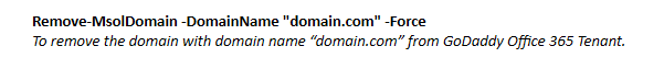 remove_domain_from_godaddy