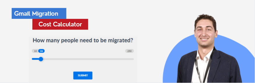 gmail to office 365 migration cost calculator
