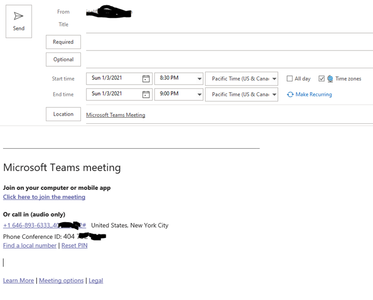 you're not setup to use this calling feature teams