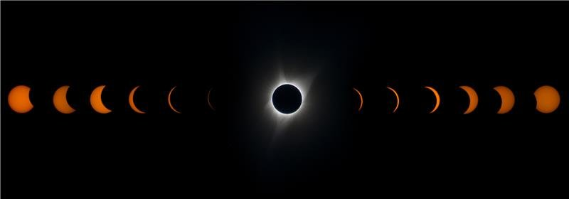 Solar Eclipse, Oregon 2018